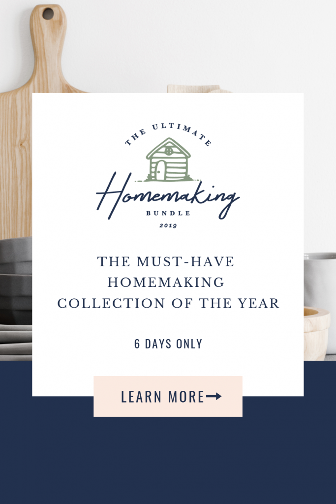 The Ultimate Homemaking Bundle 2019 | Learn More