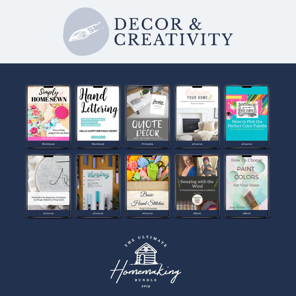 Decor & Creativity Category