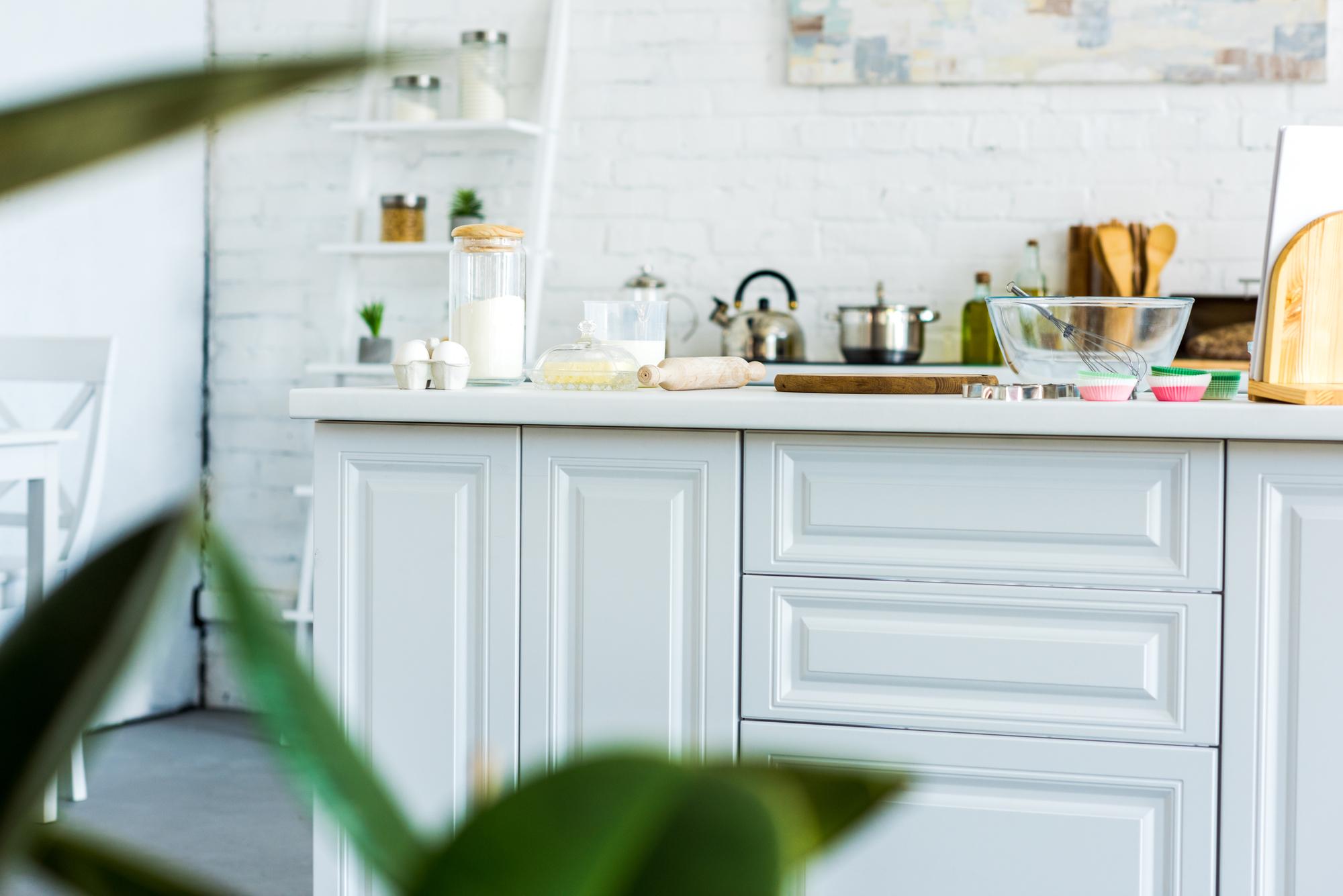 clean simple kitchen