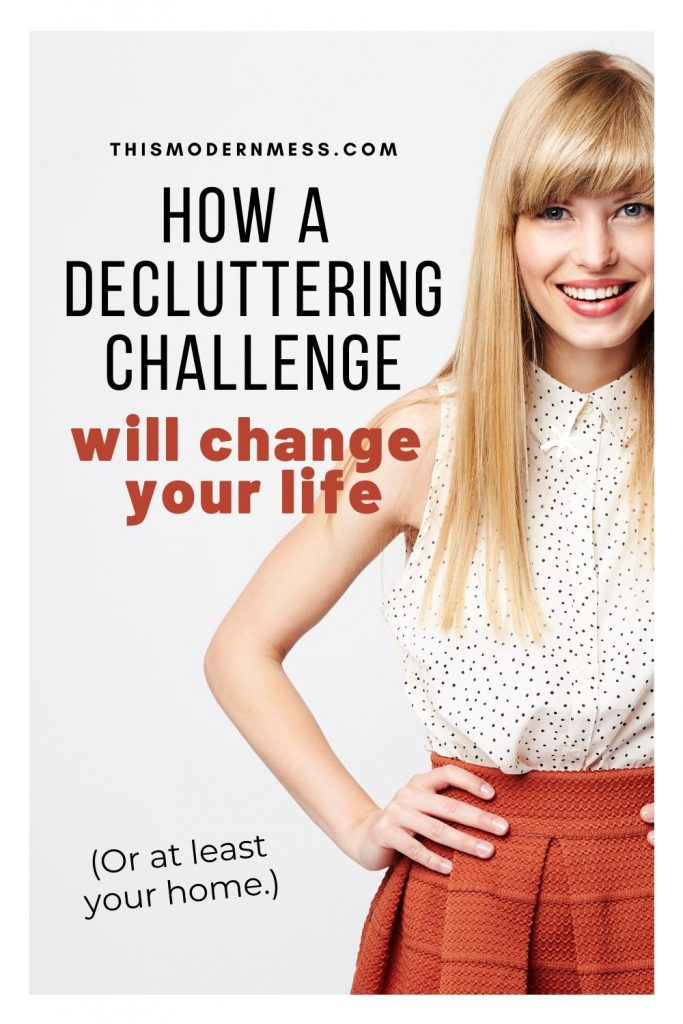 How a decluttering challenge will change your life (or at least your home)