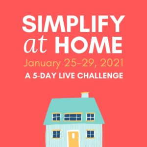 Simplify at Home Challenge Promo