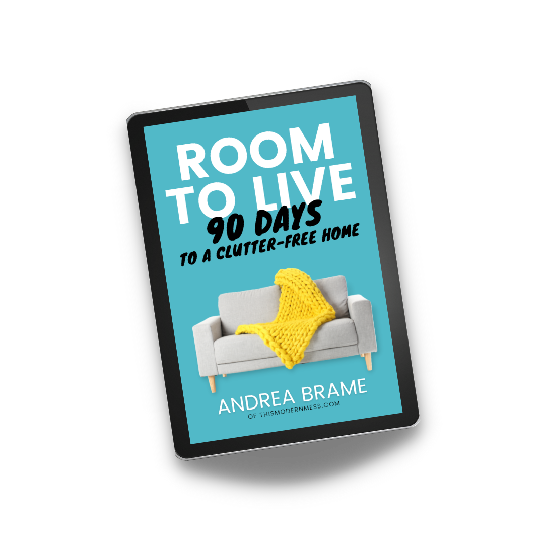 Room to Live: 90 Days to a Clutter-Free Home ebook cover